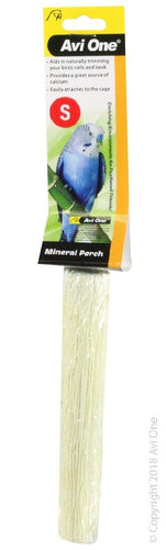 AVI ONE MINERAL PERCH CALCIUM 15.5CM X 3CM SMALL - City Country Pets and Supplies