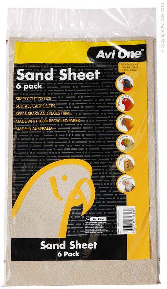 AVI ONE SAND SHEETS 3PK 23CMX41CM - City Country Pets and Supplies