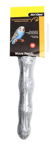AVI ONE WAVE PERCH CONCRETE MEDIUM 16CM - City Country Pets and Supplies
