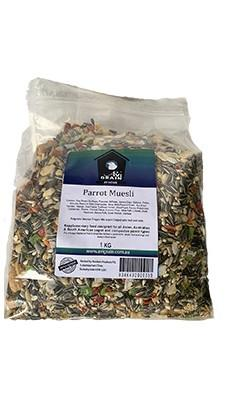 AVIGRAIN PARROT MUESLI 1KG - City Country Pets and Supplies