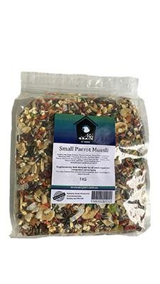 AVIGRAIN SMALL PARROT MUESLI 1KG - City Country Pets and Supplies