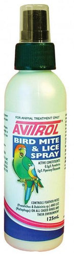 AVITROL BIRD MITE AND LICE SPRAY 250ML - City Country Pets and Supplies