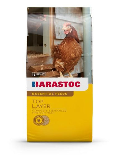 BARASTOC TOP LAYER PREMIUM MASH 20KG FOR POULTRY - City Country Pets and Supplies