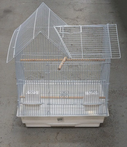 BIRD CAGE WHITE HOUSE TSA 5854 - City Country Pets and Supplies