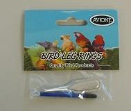 BIRD LEG RINGS FINCH SPLIT RINGS 2.8MM - City Country Pets and Supplies