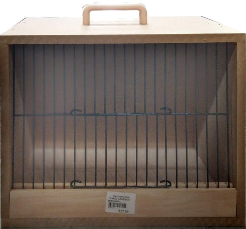 BIRD TRAVEL CAGE/BOX SMALL - City Country Pets and Supplies