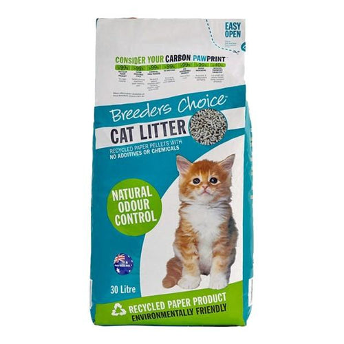 BREEDERS CHOICE CAT LITTER 30L - City Country Pets and Supplies