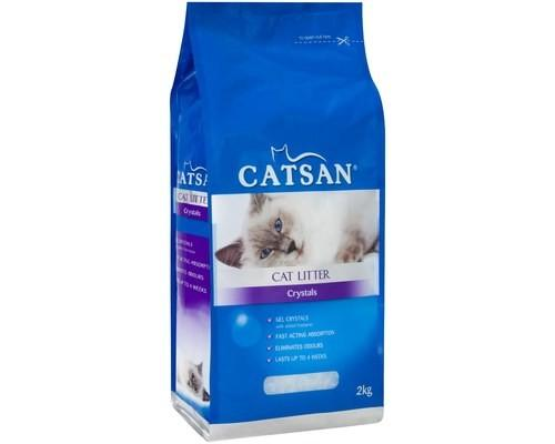 CATSAN CRYSTALS CAT LITTER 2KG - City Country Pets and Supplies