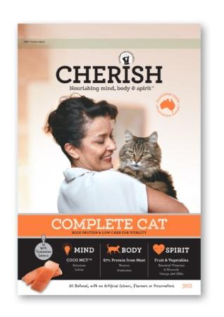 CHERISH COMPLETE CAT FOOD 3KG - City Country Pets and Supplies