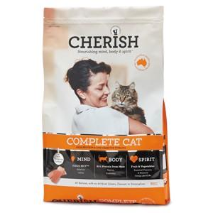 CHERISH COMPLETE CAT FOOD 8KG - City Country Pets and Supplies