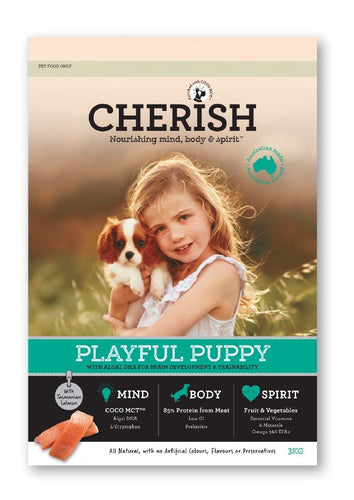CHERISH PLAYFUL PUPPY FOOD 3KG - City Country Pets and Supplies