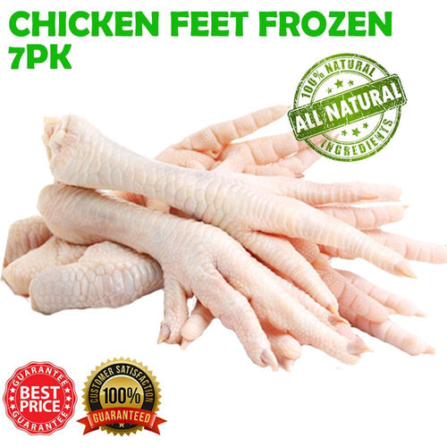 CHICKEN FEET FROZEN 7PK - City Country Pets and Supplies