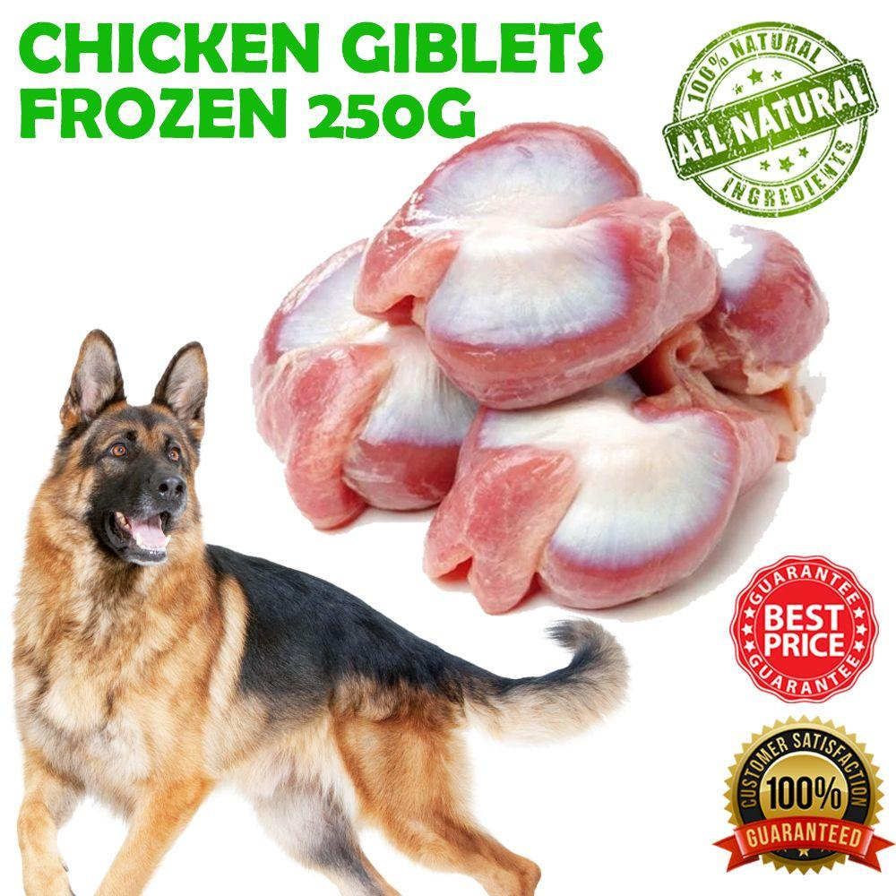 CHICKEN GIBLETS FROZEN 250G - City Country Pets and Supplies
