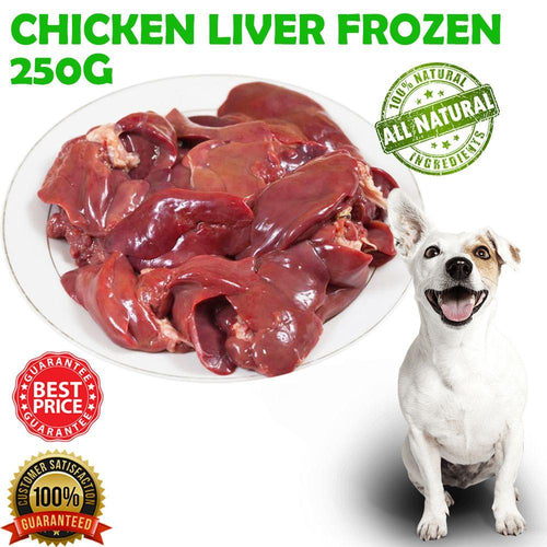 CHICKEN LIVER FROZEN 250G - City Country Pets and Supplies