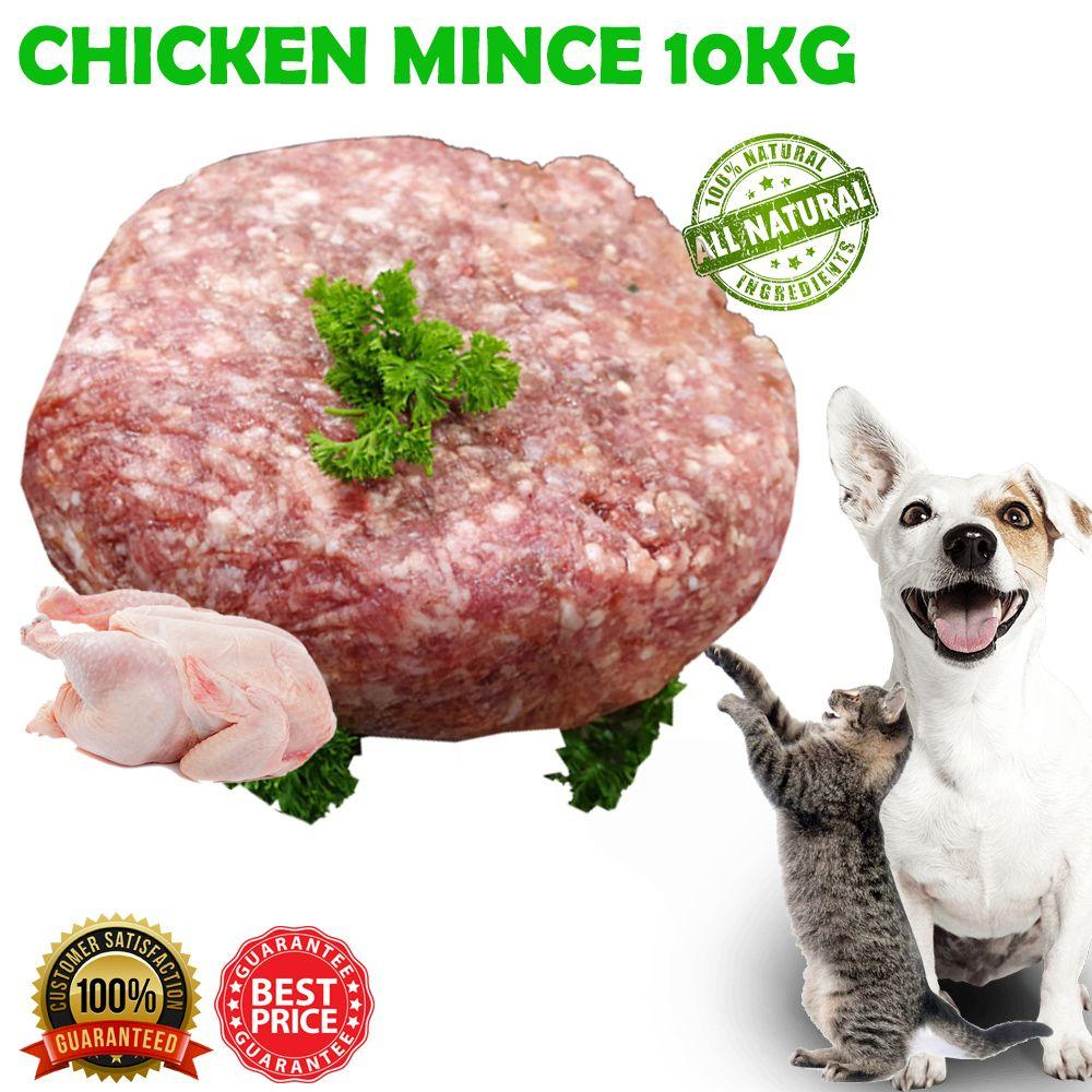 CHICKEN MINCE 10KG - City Country Pets and Supplies