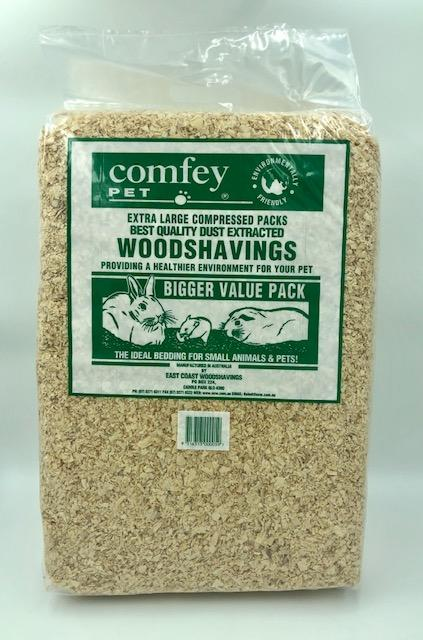 COMFEY PET 30L COMPRESSED WOOD SHAVINGS - City Country Pets and Supplies