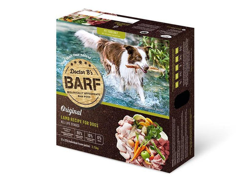 DR B'S BARF LAMB RECIPE 12PK (2.72KG) - City Country Pets and Supplies