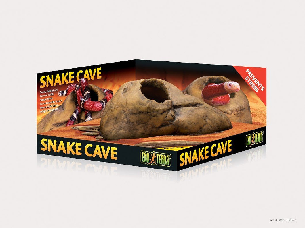 EXO TERRA SNAKE CAVE LARGE - City Country Pets and Supplies