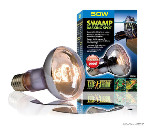 EXO TERRA SWAMP BASKING SPOT LAMP 50W - City Country Pets and Supplies