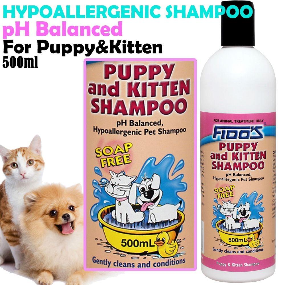 FIDOS PUPPY & KITTEN SHAMPOO 500ML - City Country Pets and Supplies