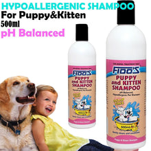 Load image into Gallery viewer, FIDOS PUPPY & KITTEN SHAMPOO 500ML - City Country Pets and Supplies