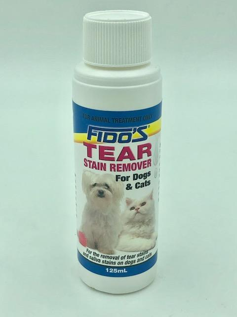 FIDOS TEAR STAIN REMOVER 125ML - City Country Pets and Supplies