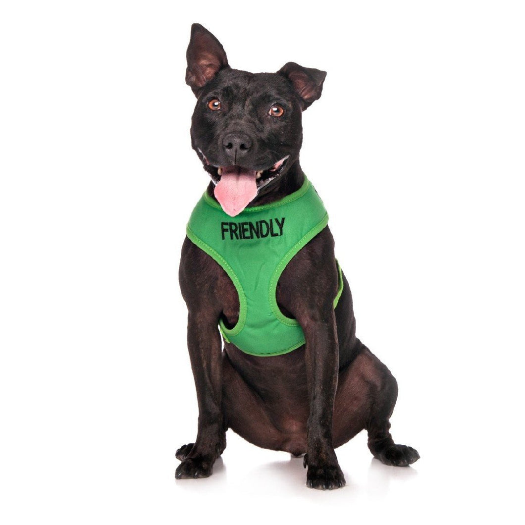 FRIENDLY ADJUSTABLE DOG VEST HARNESS MEDIUM (40CM NECK X 48-72CM GIRTH) - City Country Pets and Supplies