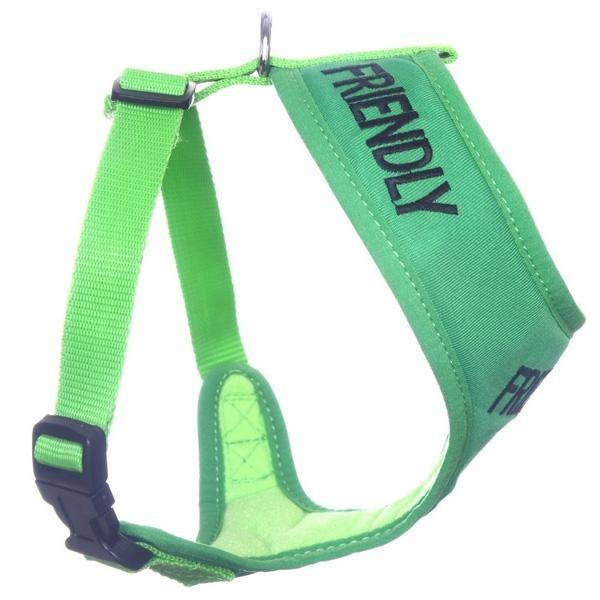 FRIENDLY ADJUSTABLE DOG VEST HARNESS SMALL (31CM NECK X 38-60CM GIRTH) - City Country Pets and Supplies