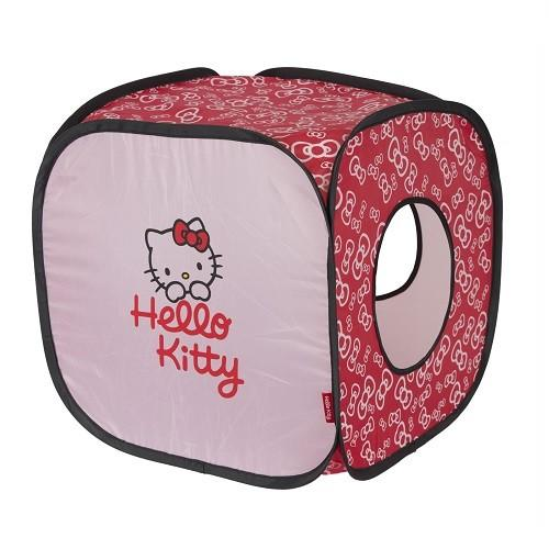 HELLO KITTY CAT BOWTASTIC ACTIVITY CUBE APPROX. 40X40X40CM - City Country Pets and Supplies