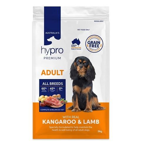 HYPRO PREMIUM ADULT KANGAROO AND LAMB 9KG - City Country Pets and Supplies
