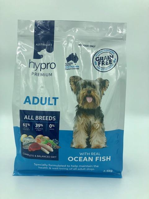 HYPRO PREMIUM ADULT OCEAN FISH ALL BREED 2.5KG - City Country Pets and Supplies