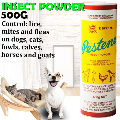 INCA PESTENE INSECT POWDER 500G - City Country Pets and Supplies