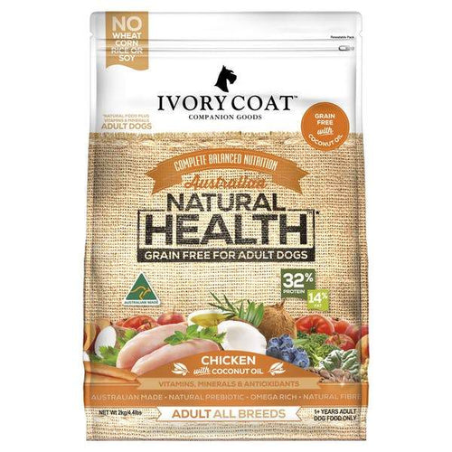 IVORY COAT ADULT CHICKEN WITH COCONUT OIL 2KG - City Country Pets and Supplies