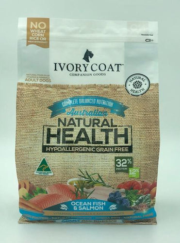 IVORY COAT ADULT OCEAN FISH & SALMON 2KG - City Country Pets and Supplies