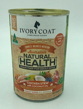 Load image into Gallery viewer, IVORY COAT CHICKEN STEW WET FOOD 400G - City Country Pets and Supplies