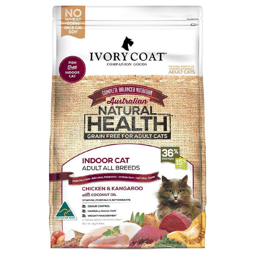 IVORY COAT INDOOR CAT 6KG - City Country Pets and Supplies