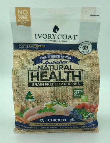IVORY COAT PUPPY CHICKEN 2KG - City Country Pets and Supplies
