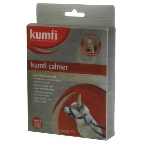 KUMFI CALMER HEAD HALTER SET SUITS MEDIUM AND LARGE DOGS KC092 - City Country Pets and Supplies