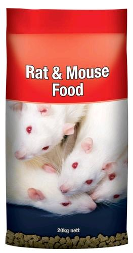 LAUCKE MILLS RAT & MOUSE FOOD 20KG - City Country Pets and Supplies