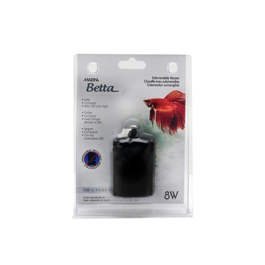 MARINA BETTA SUBMERSIBLE 8W HEATER FOR 2-5L AQUARIUMS - City Country Pets and Supplies