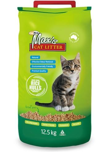MAXS CAT LITTER 12.5KG - City Country Pets and Supplies