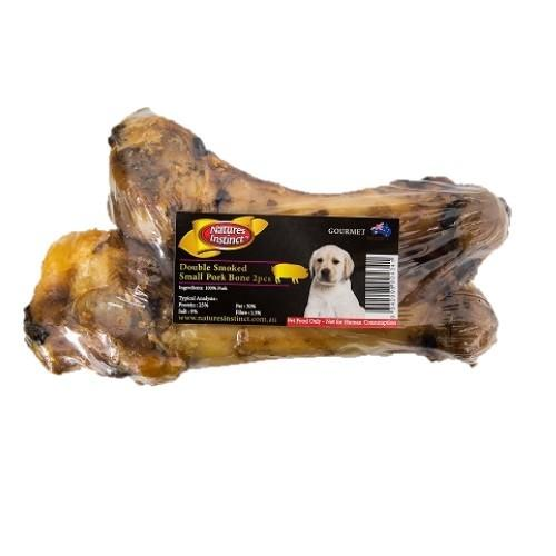 NATURES INSTINCT DOUBLE SMOKED PORK BONE 2PCS - City Country Pets and Supplies