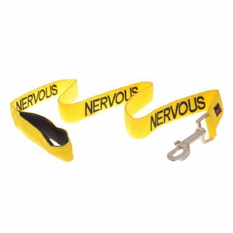 NERVOUS 120CM 4FT LEASH/LEAD - City Country Pets and Supplies