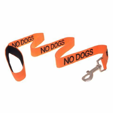 NO DOGS 120CM 4FT LEASH/LEAD - City Country Pets and Supplies