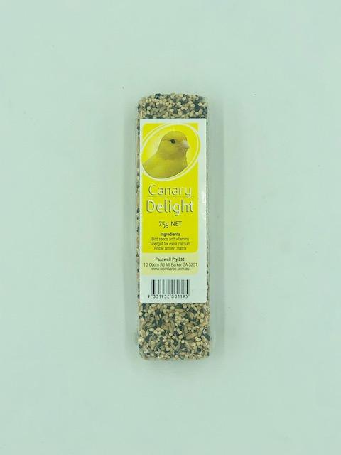 PASSWELL AVIAN DELIGHT CANARY 75G - City Country Pets and Supplies