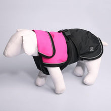 Load image into Gallery viewer, PET ONE BLIZZARD H/DUTY WATERPROOF REFLECTIVE DOG COAT 30CM PINK - City Country Pets and Supplies