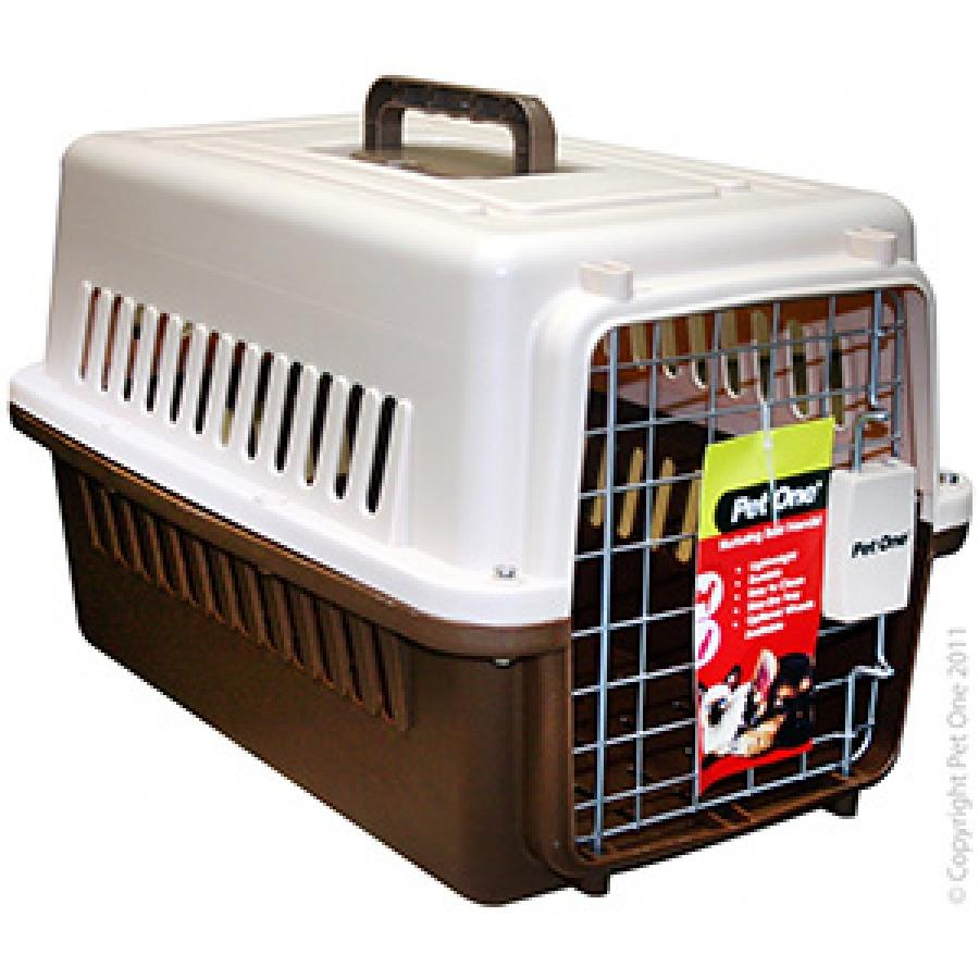 PET ONE CARRIER #1 (48.35 L X 31.76 W X 30.3CM H) - City Country Pets and Supplies