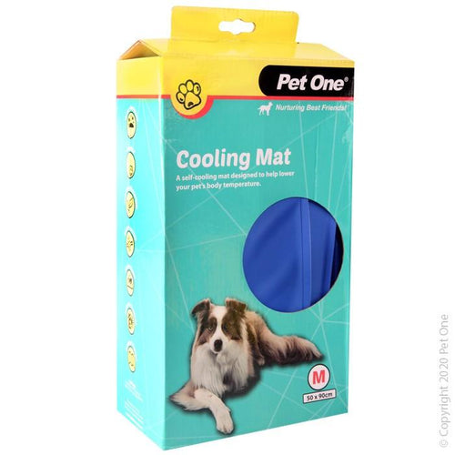 PET ONE COOLING MAT BEDDING GEL BED M 50X90CM (47758) - City Country Pets and Supplies