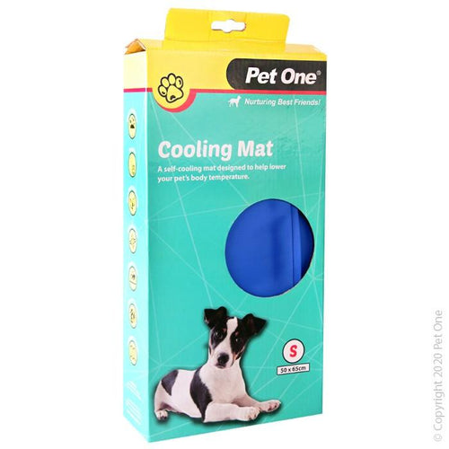 PET ONE COOLING MAT BEDDING GEL BED S 50X65CM (47757) - City Country Pets and Supplies
