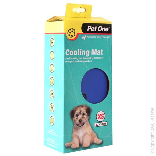 PET ONE COOLING MAT BEDDING GEL BED XS 40X50CM (47756) - City Country Pets and Supplies